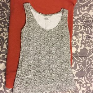 H&M spotted tank top M